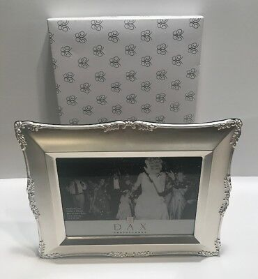 Lot Of 5 Silver Ornate Metal Picture Frames Wedding Love Flowers