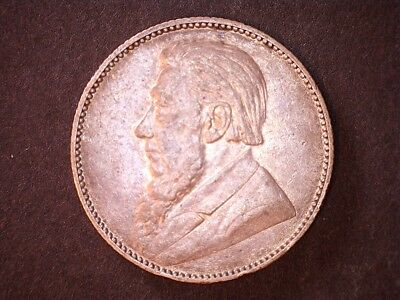 1897 1 schilling South Africa silver coin KM#5