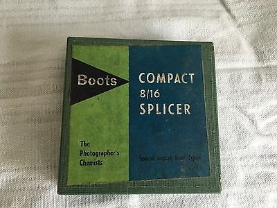 Compact 8/16 Splicer Boots Branded Retro
