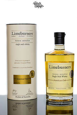 Limeburners American Oak Small Batch Australian Single Malt Whisky (700ml)