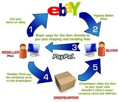 Dropshipping List Compiled. Sell On Ebay Amazon Make Huge Profits Only 99 Cents