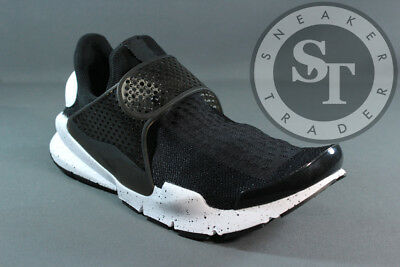 wholesale dealer 254e9 101b4 NIKE SOCK DART Se 833124-001 Oreo Black White Ds Size: 10