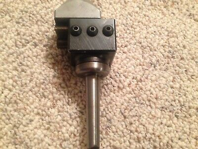 MACHINIST LATHE MILL Machinist Criterion Mod 1 1/2 Boring Head Adjustable