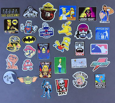 FUNNY Hard Hat Stickers 30+ HardHat Sticker & Decals, Helmet, Lunch & Tool Box