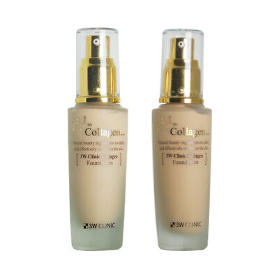 [3W CLINIC] Collagen Foundation - 50ml / Free Gift