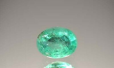 19thC Antique 1¼ct Siberian Emerald Gem of Russian Czar Crown Jewels Astrology