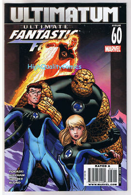 ULTIMATE FANTASTIC FOUR #60, VF, Thing, Human Torch , 2009