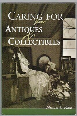 BOOK: CARING & PROTECTING ANTIQUES AND COLLECTIBLES plus Packing & Storage Hints