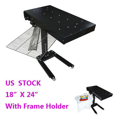 "18"" X 24"" Flash Dryer Silkscreen Shirt Printing Curing Machine Adjustable Height"