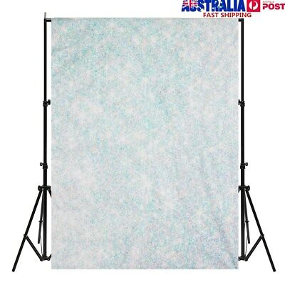 5X7ft Green White Holiday Simple Photography Background Photo Studio Backdrop AU