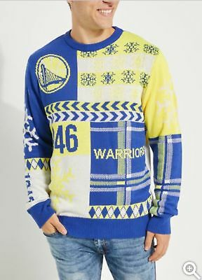 b6df45cc8 NEW! - NBA Golden State Warriors Ugly Christmas Sweater Multiple Sizes  Available