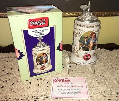 Coca-Cola Early Illustrators Stein Series-2nd Edition-Rockwell-Wyeth CS491
