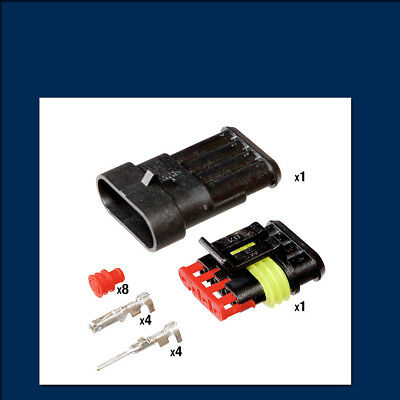 AMP Superseal Connector Kit - 4 Way