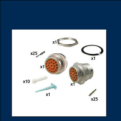HD30 Series 24 Shell - 23 Way - Genuine Deutsch Connector Kit