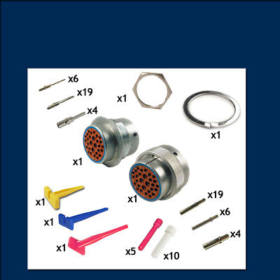 HD30 Series 24 Shell - 29 Way -Genuine Deutsch Connector Kit