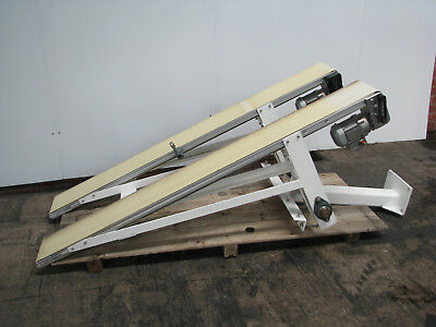 Dual Motorised Belt Conveyor - 2m long