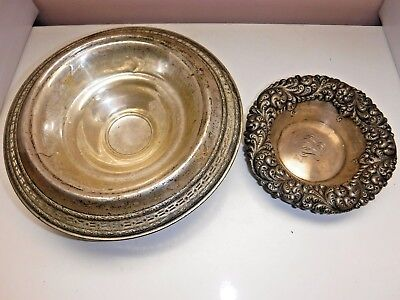 360 Grams of Sterling Silver (Scrap) 2 Bowls HSG Co.