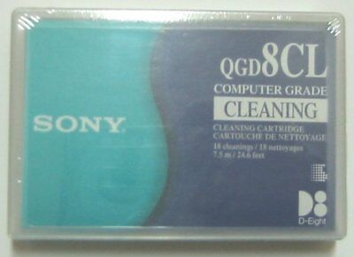 Sony 8Mm Video8 Hi8 D8 Digital8 Data8 Head Cleaning Cleaner Clean Tape Brand New