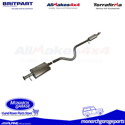 Land Rover Discovery 1 300Tdi Centre Box & Tail Exhaust ESR2391