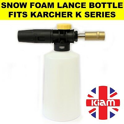 Snow Foam Lance Spray Nozzle Bottle Fits Karcher K series Pressure Washer Brass