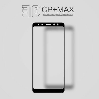 NILLKIN 3D CP+ Max for Samsung Galaxy A8+ (2018) Tempered Glass Screen Protector
