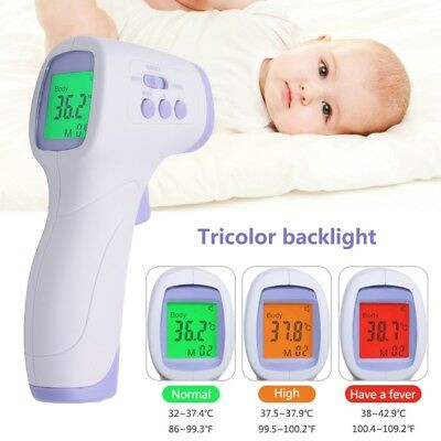 PC868 Infrared Babies Kid Thermometer Non-contact LCD Digital Thermometer