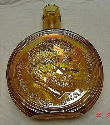 Vintage First Edition Wheaton Nuline Abraham Lincoln Presidential Decanter