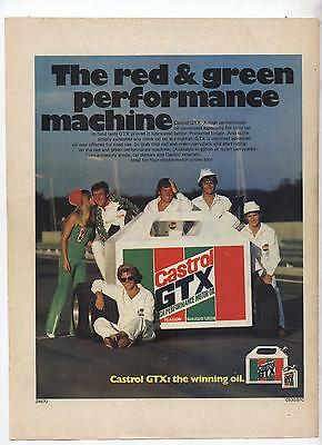 Castrol GTX Motor Oil Original Advertisement