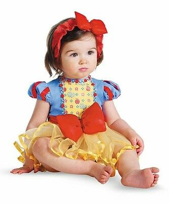 Snow White Costume for Infant 12-18 Months by Disguise