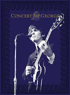 CONCERT FOR GEORGE (Various Artists) 2 CD + 2 DVD Box Set (2018)