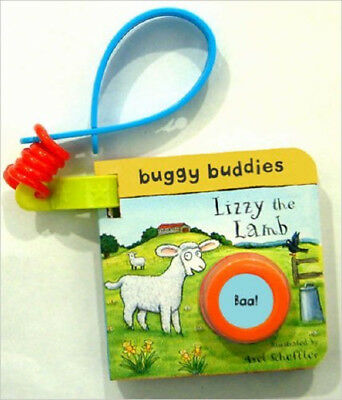Sound-button Buggy Buddies: Lizzy the Lamb, New,  Book