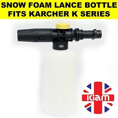 Karcher K3 SNOW FOAM Lance Spray Bottle with variable nozzle for Pressure Washer