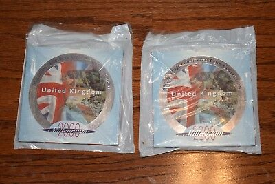 Two Guernsey 1988, 2001 Uncirculated Coin Sets