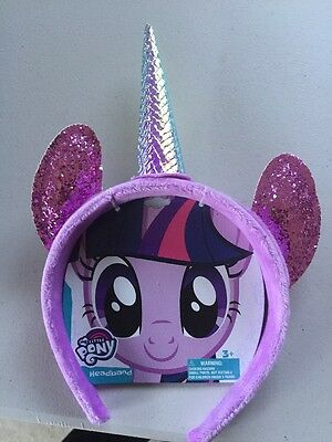Twilight Sparkle Ears Headband CHILD Costume Accessory •My Little Pony 'NEW