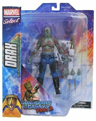 Guardians of the Galaxy Vol. 2 Drax & Baby Groot Action Figure DIAMOND Select