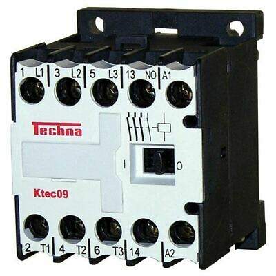 Techna KTEC09-01-240 240VAC Contactor Coil (1 NC Auxiliary)