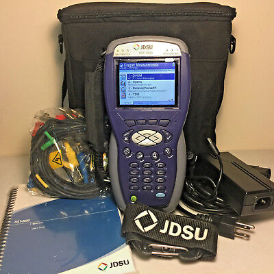 JDSU HST-3000 Color Screen w/ HST-3000 SIM Module - Many Options - Complete Kit!