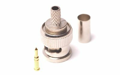 BNC Crimp plug for RG58 Cable 50 ohm