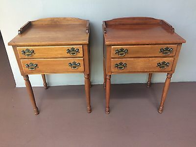 ***FREE SHIPPING***Ethan Allen Nightstands Tables Heirloom Collection