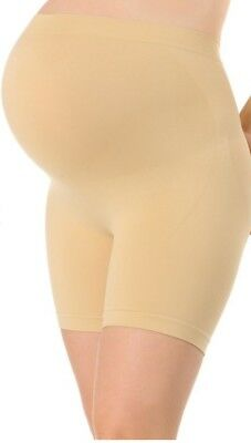 Motherhood Maternity Small Medium Nude Brown Stretchy Fit Shaping Panty