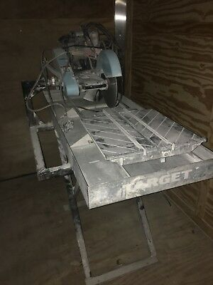 Target Super Tilematic G2 Wet Tile Saw 10 inch Professional Contractor