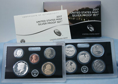 2017-S United States Mint Silver Proof Set (Original Mint Packaging) - Free Ship