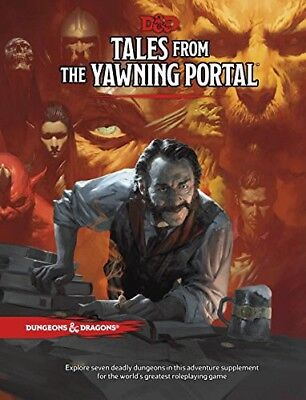 Tales from The Yawning Portal + 2 photocopyable character sheets