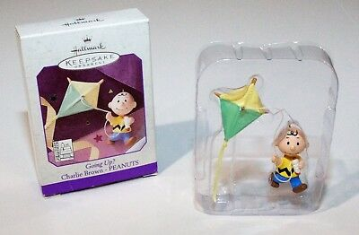 Hallmark 1998 Keepsake Ornament Peanuts Charlie Brown Going Up? Ornament