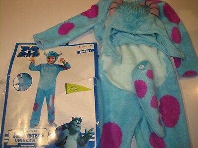 Disney Pixar Monsters University Sulley Toddler Classic Costume, 2T