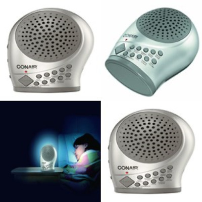 Sleep Sound Machine Therapy Noise Night Slee Aid Timer 10 Relax Sounds Light