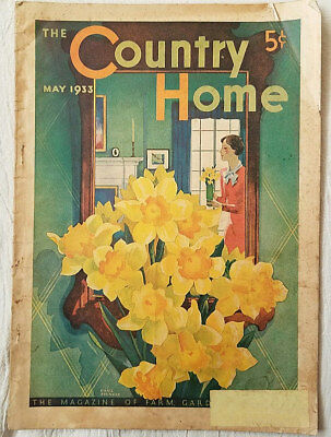Vintage Magazine The Country Home May 1933