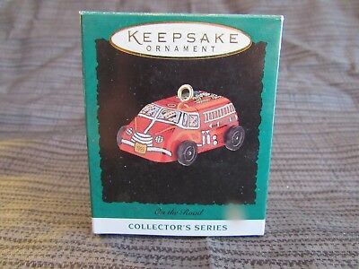 1995 Hallmark On The Road Miniature Series Ornament- NIB