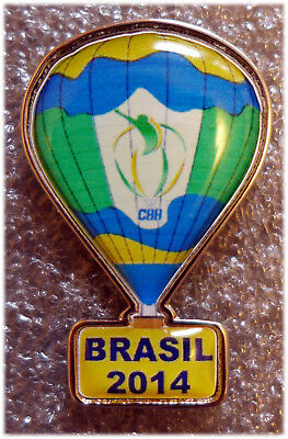 2014 World Hot Air Balloon Championship in Brazil Official Pin