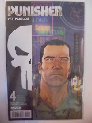 Punisher: The Platoon #4 Marvel NM Comics Book